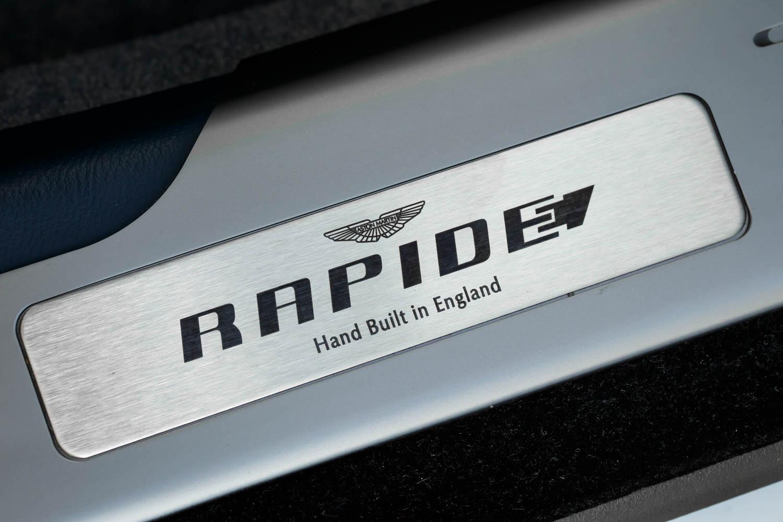 Aston Martin Rapide E hand built in England