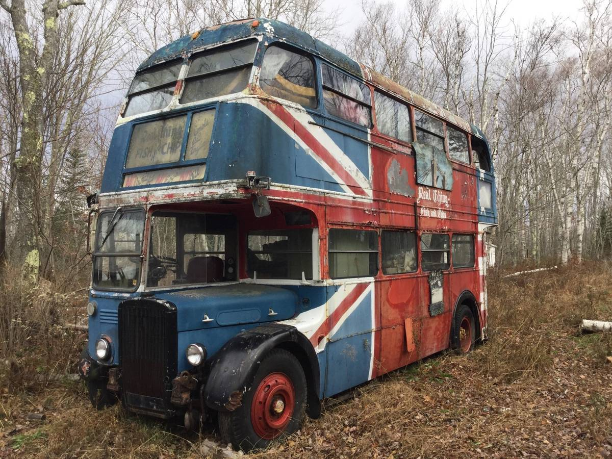 Who doesn't want a double decker bus? thumbnail