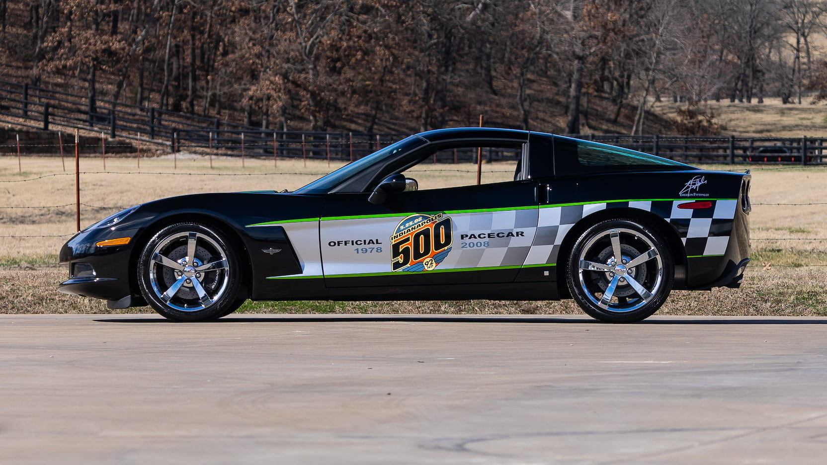 2008 Chevrolet Corvette Pace Car Edition Coupe