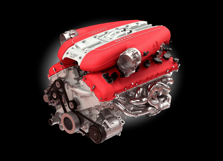 2018 Ferrari 812 Superfast engine v12 far