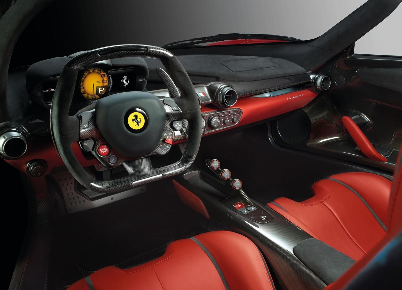 2014 Ferrari LaFerrari rear view