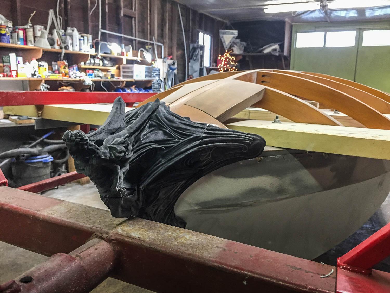 Fluevog Jaguar wood work