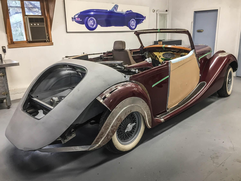 Fluevog's latest Jaguar project