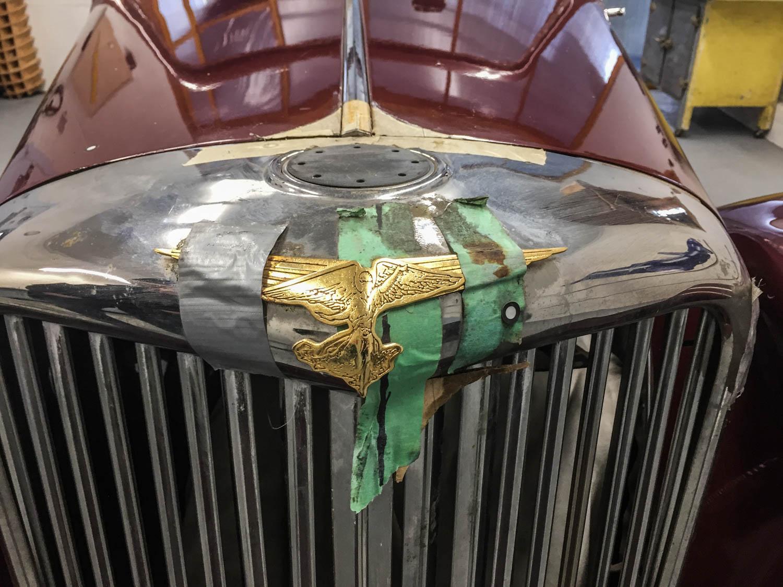 Fluevog Jaguar hood ornament