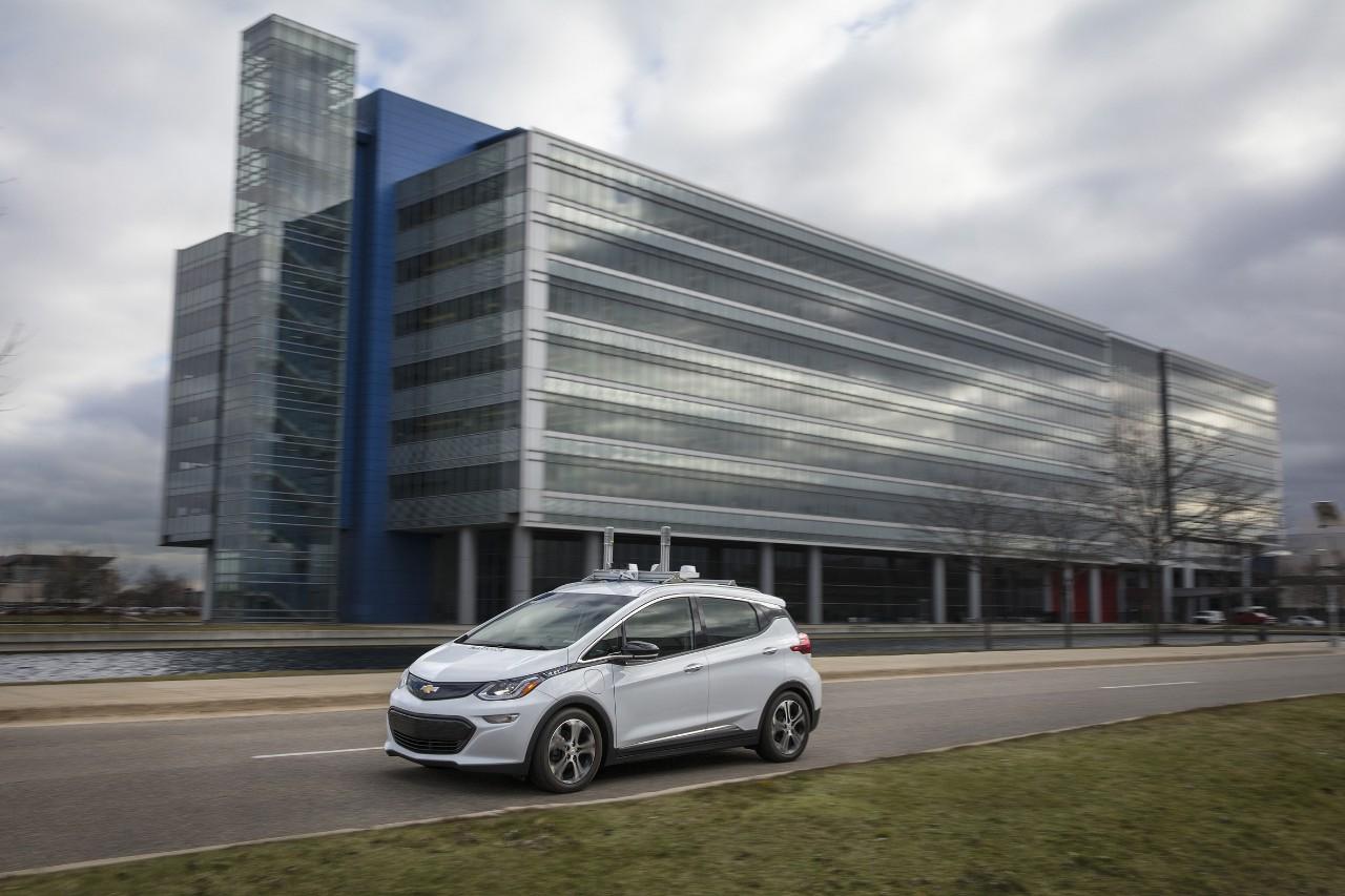 Chevrolet Bolt EV Autonomous driving
