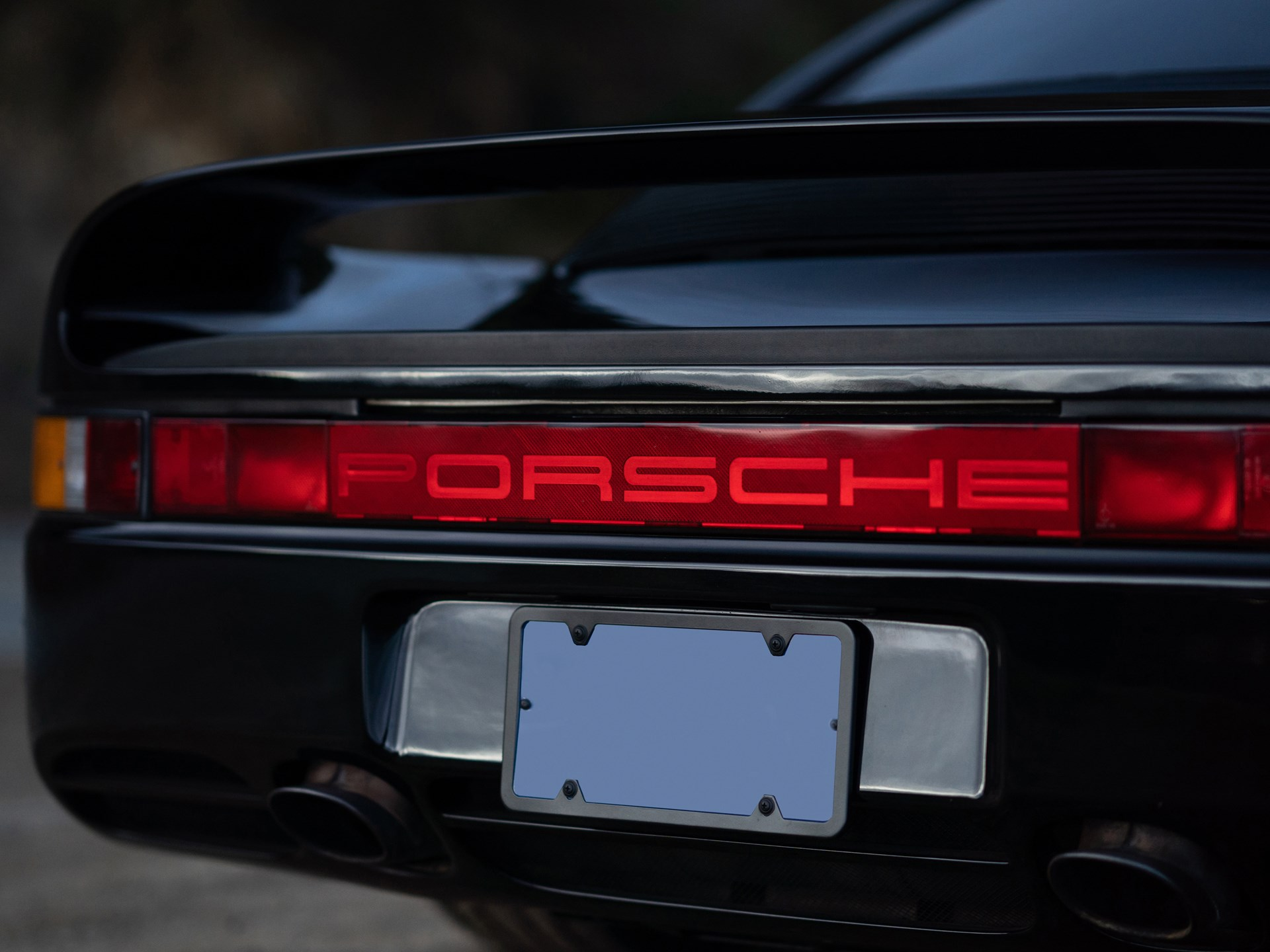 1988 Porsche 959 Komfort tail end