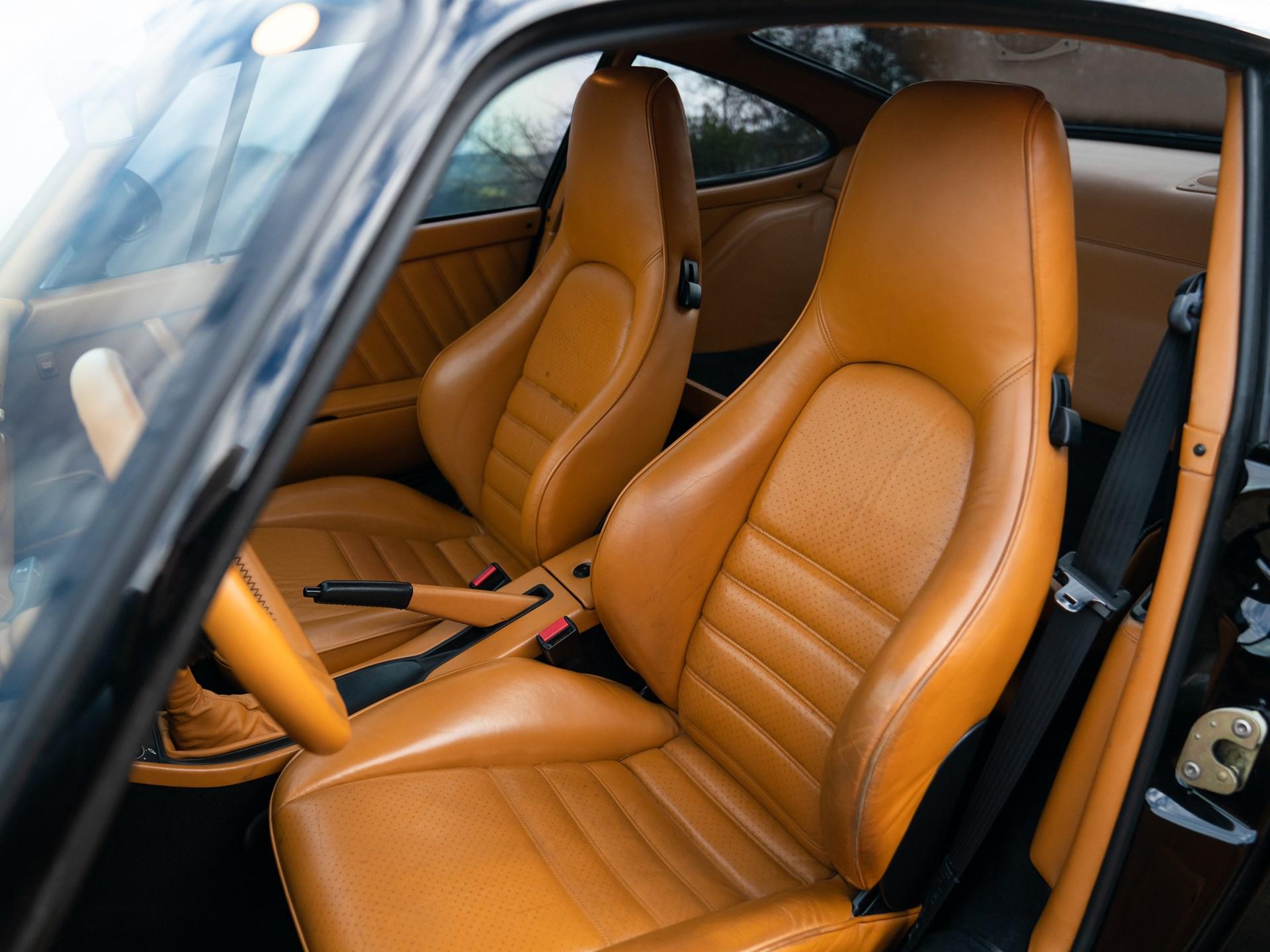1988 Porsche 959 Komfort interior seats