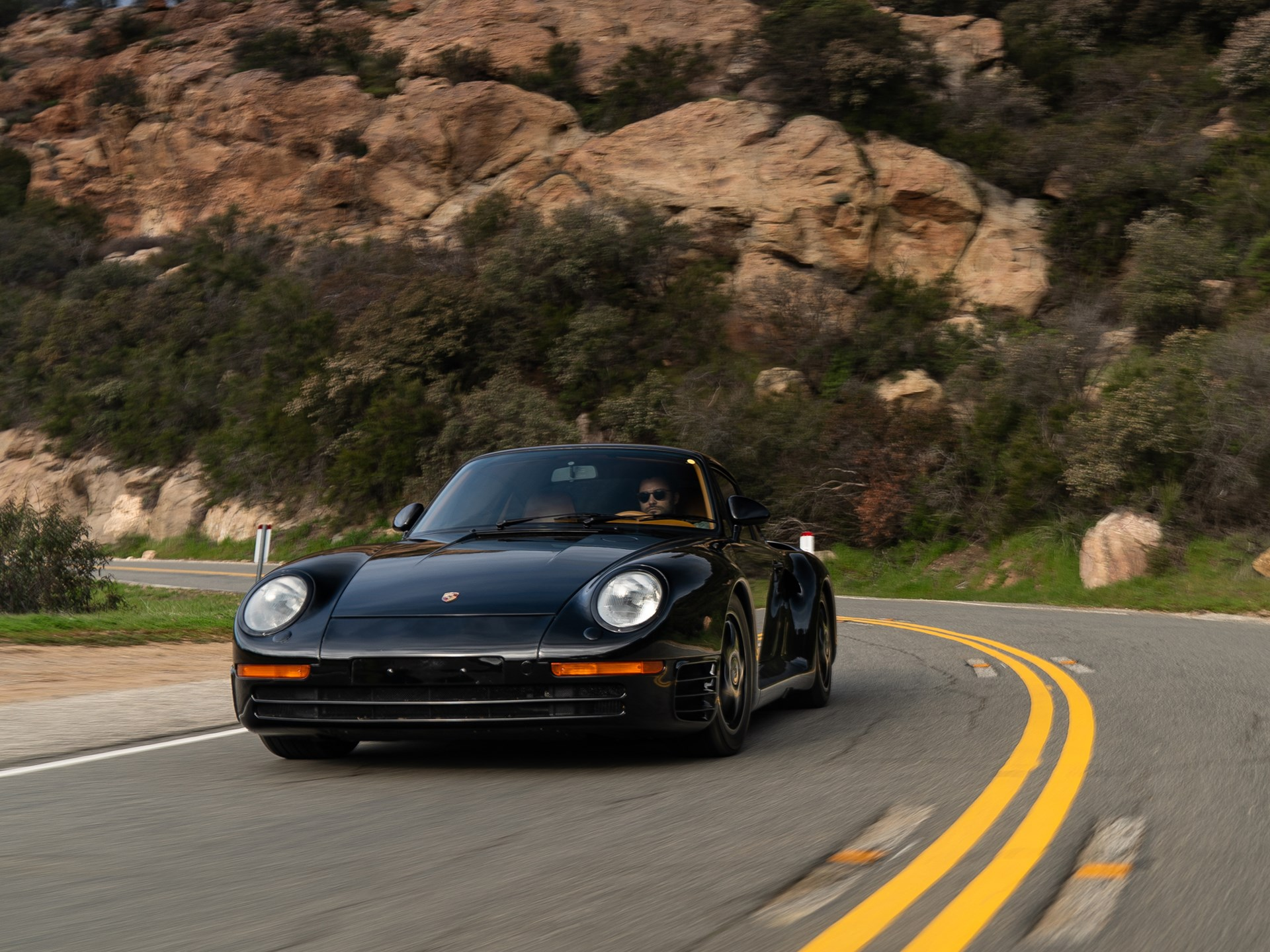 This Porsche 959 is packed with tech, and custom touches thumbnail