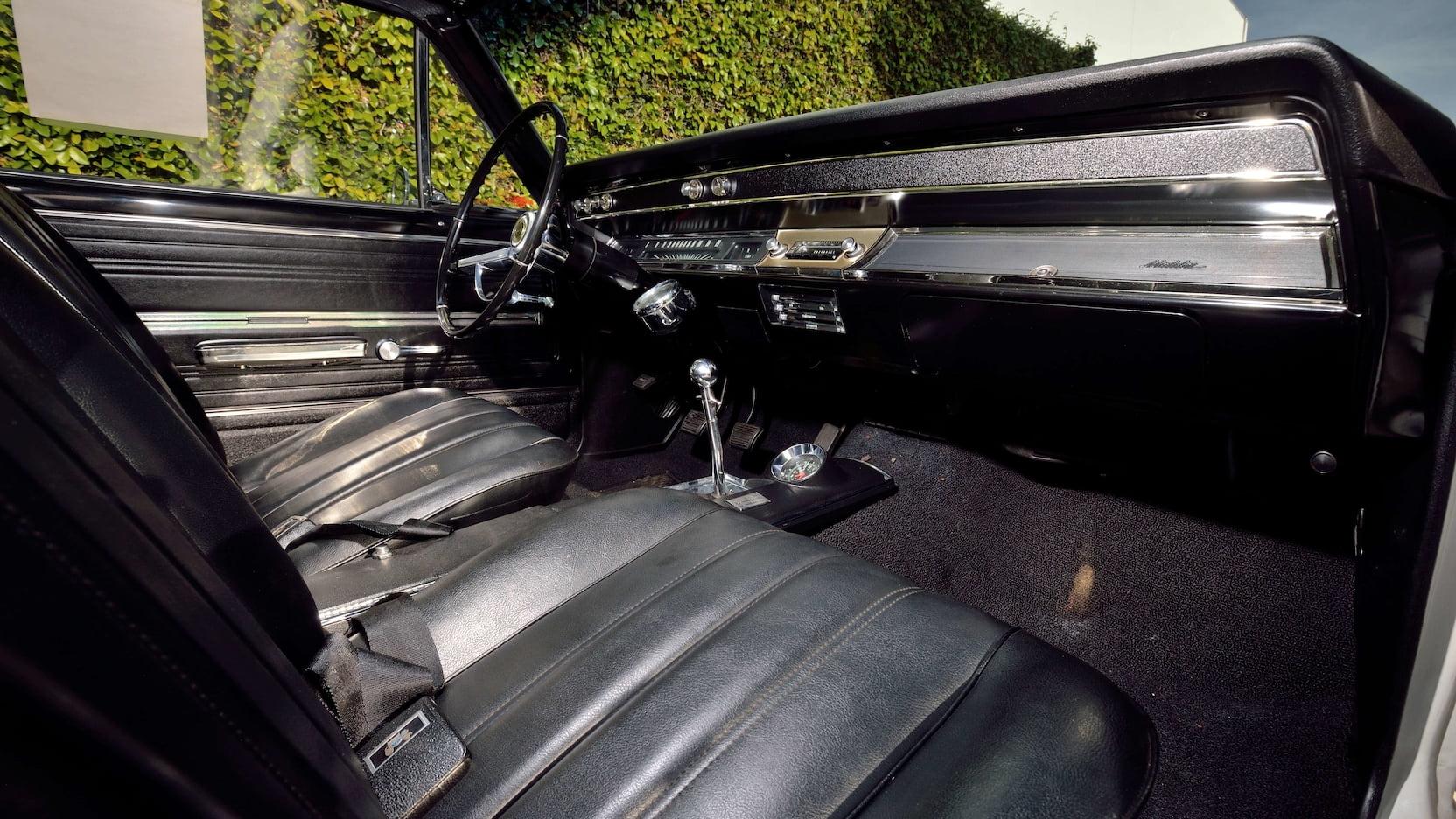 1966 Chevrolet El Camino interior passenger