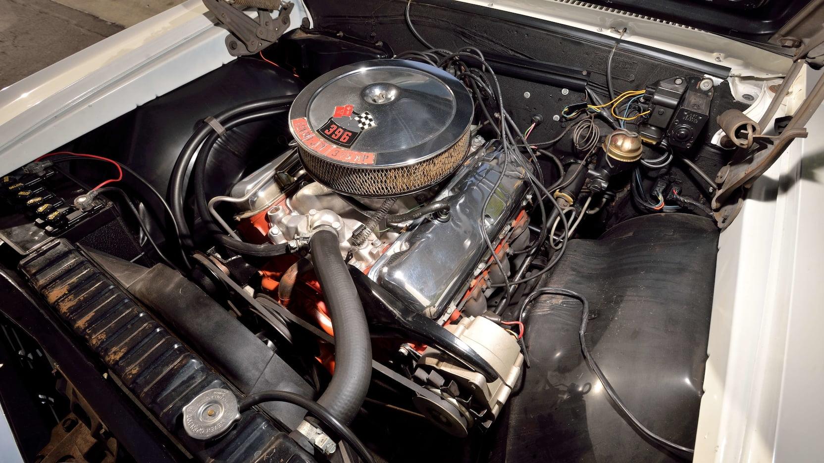 1966 Chevrolet El Camino 396 big block v8
