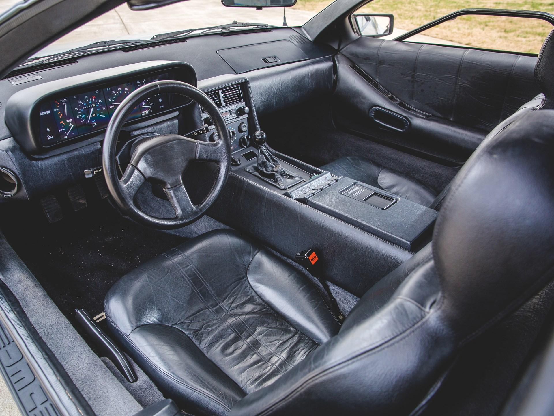 1981 DeLorean DMC-12 interior Driver