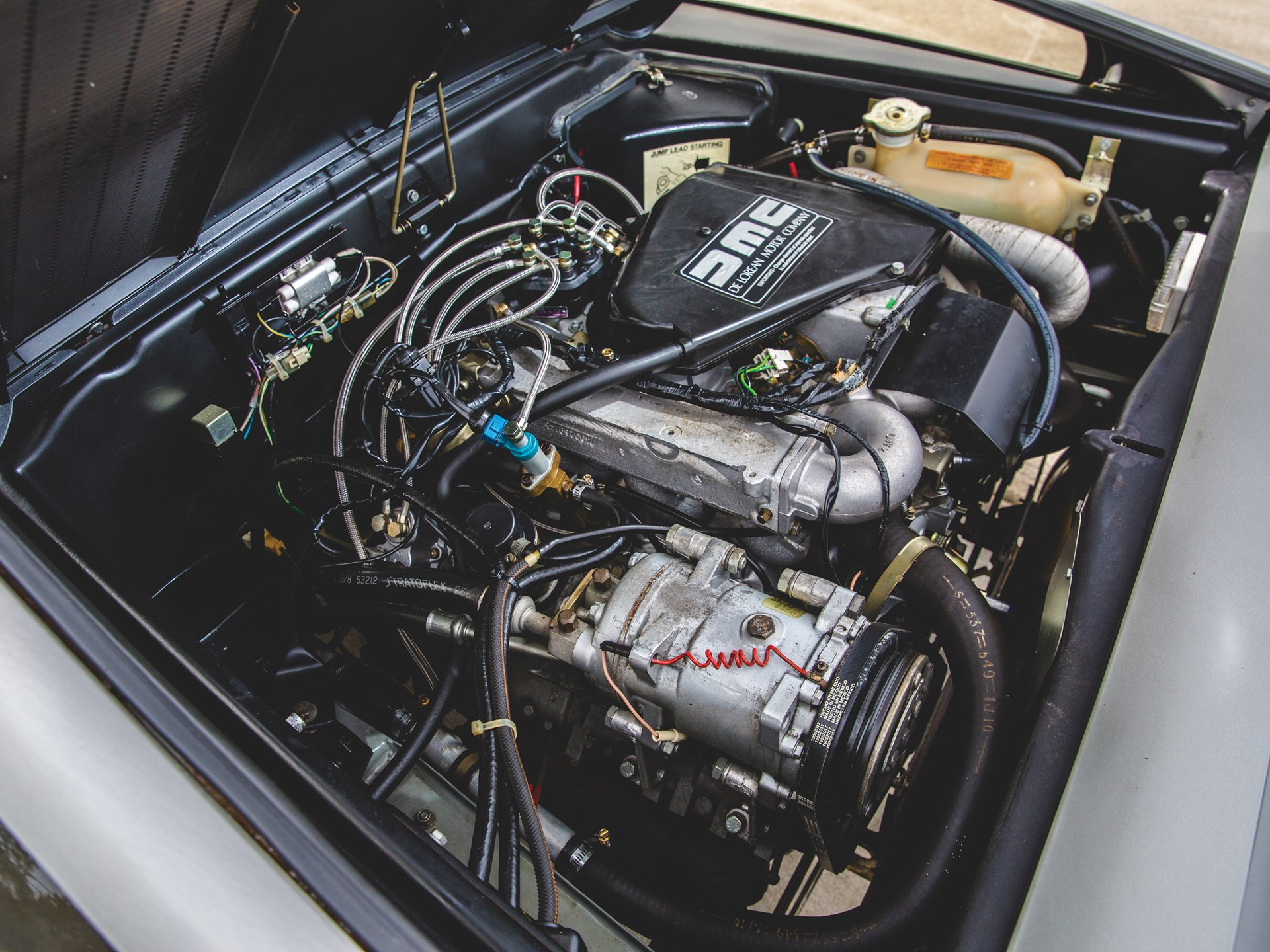 1981 DeLorean DMC-12 engine driver side