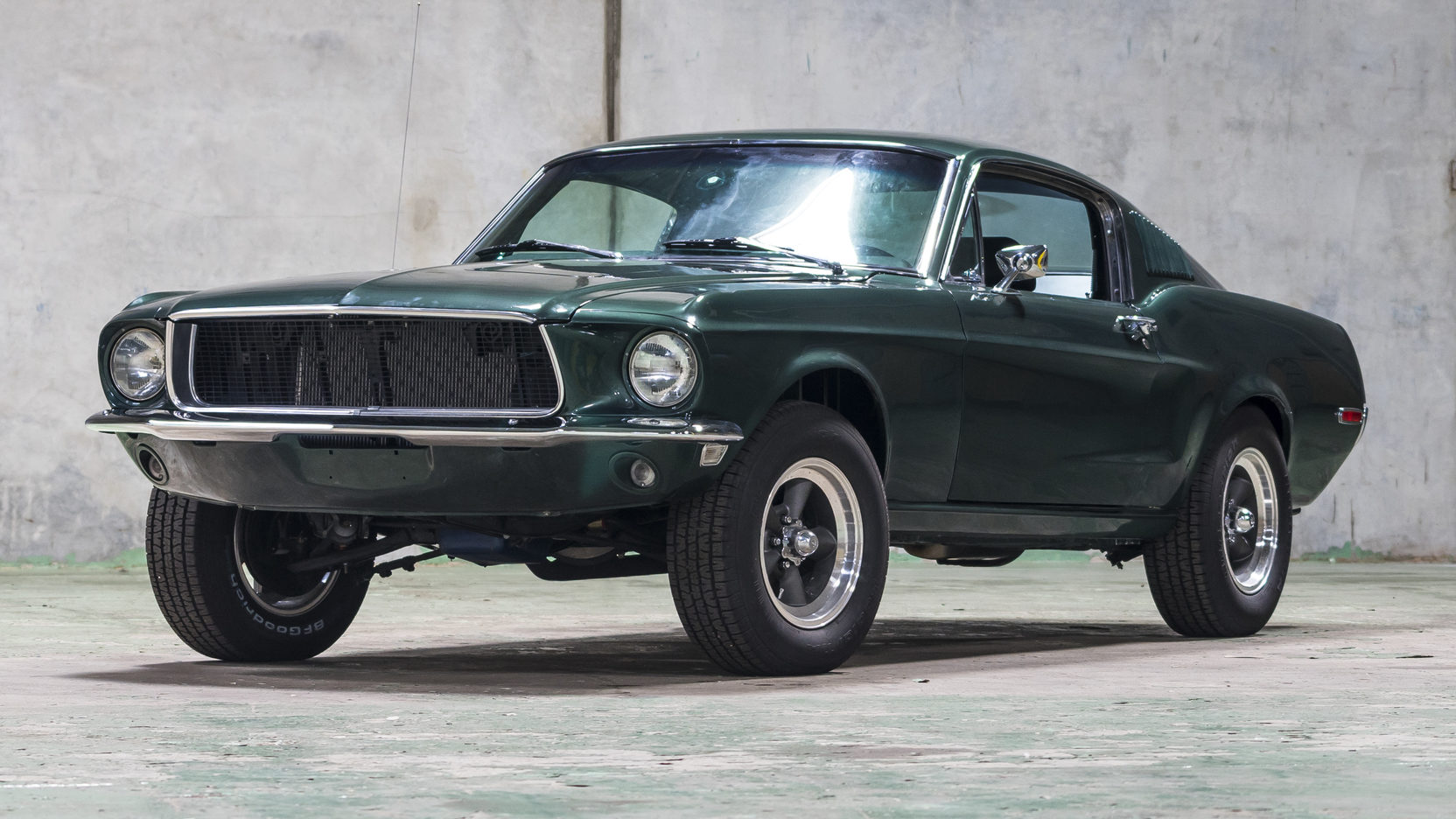 "1968 Ford Mustang ""Bullitt"" replica"