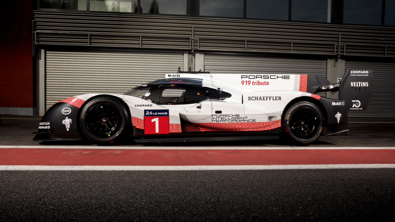Porsche 919 Hybrid side ring lap setter