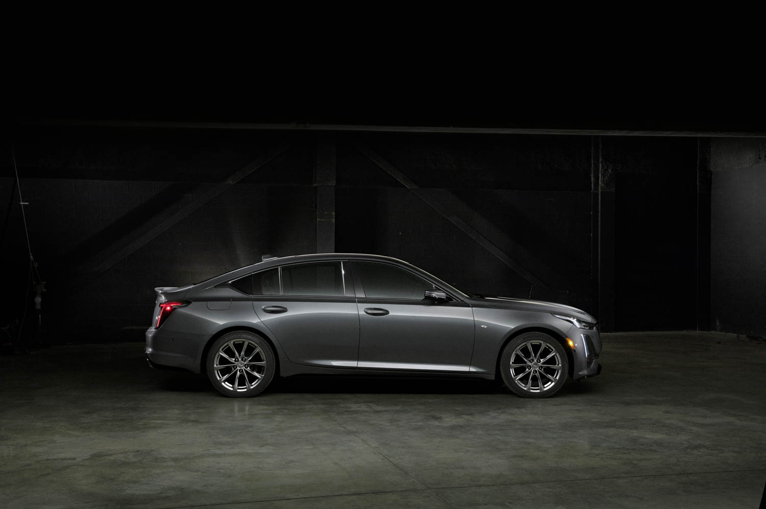 2020 Cadillac CT5 Sport side profile