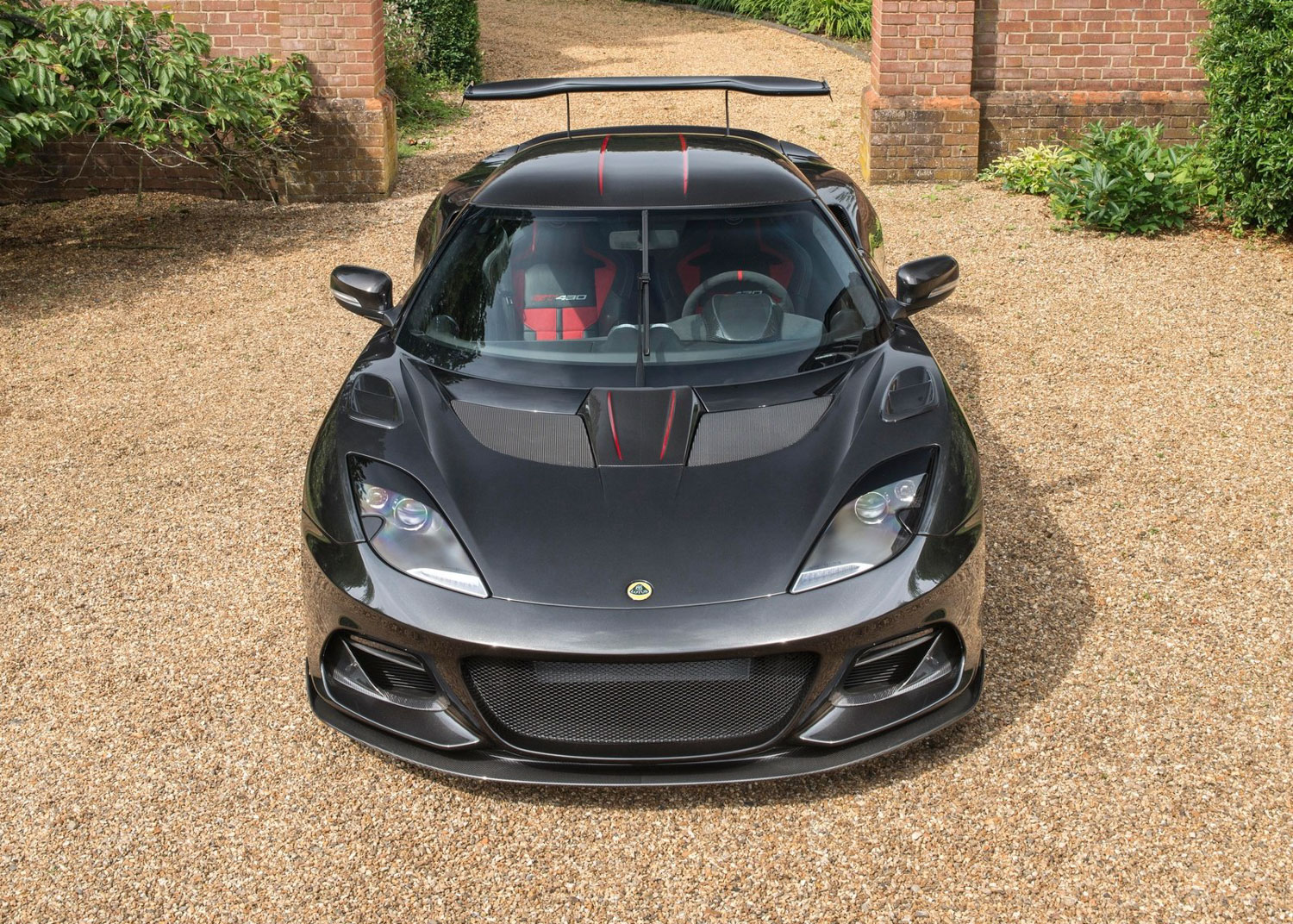2018 Lotus Evora GT430 front end