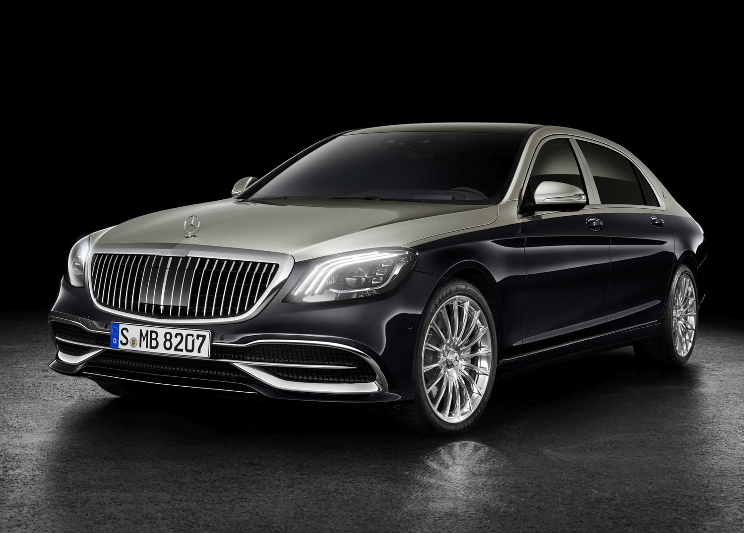 2019 Mercedes-Benz S-Class Maybach 3/4 front
