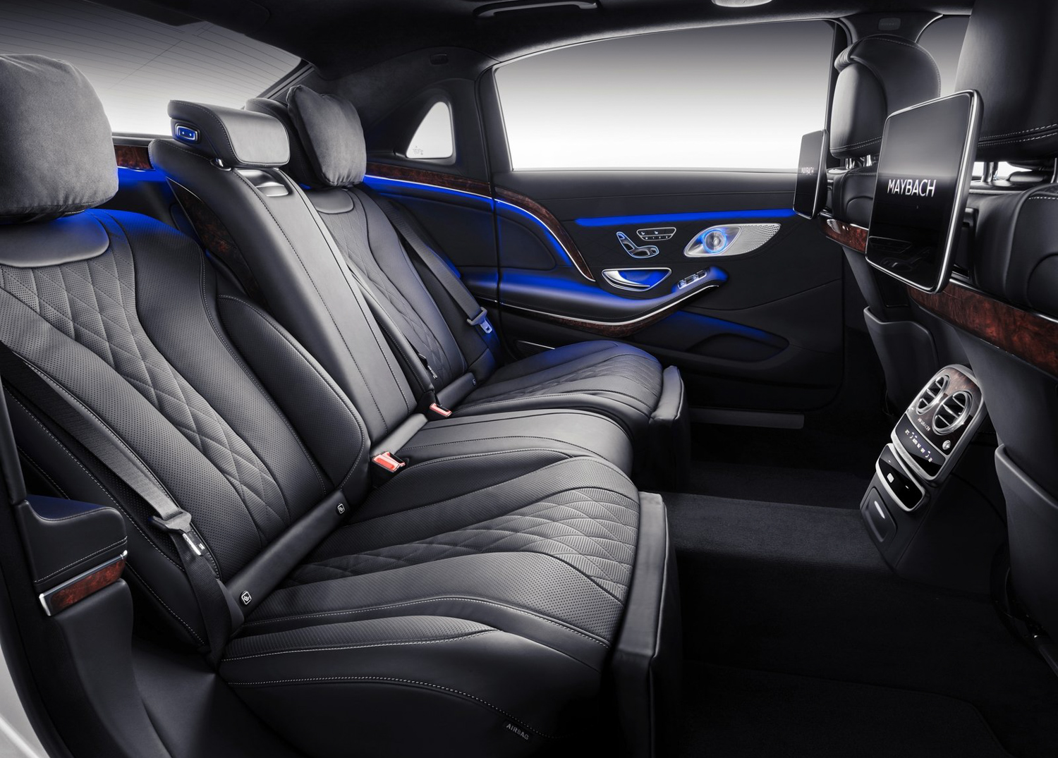 2019 Mercedes-Benz S-Class Maybach rear seat
