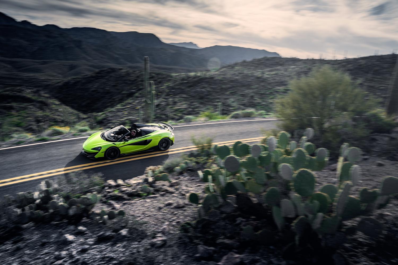 McLaren 600LT Spider side cactus