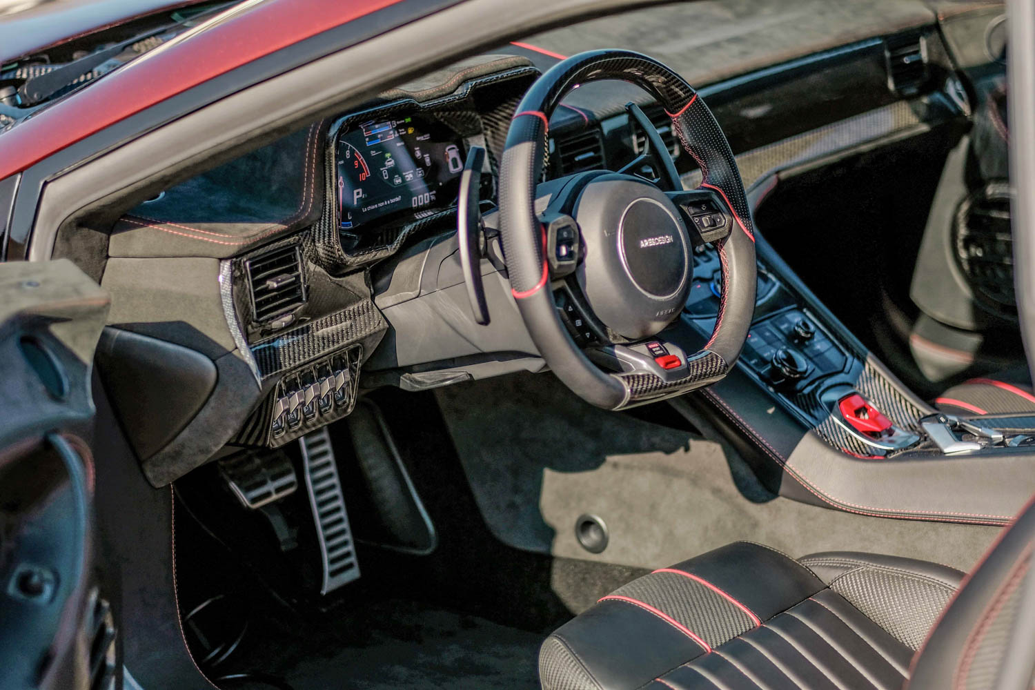 Ares Design Panther ProgettoUno interior