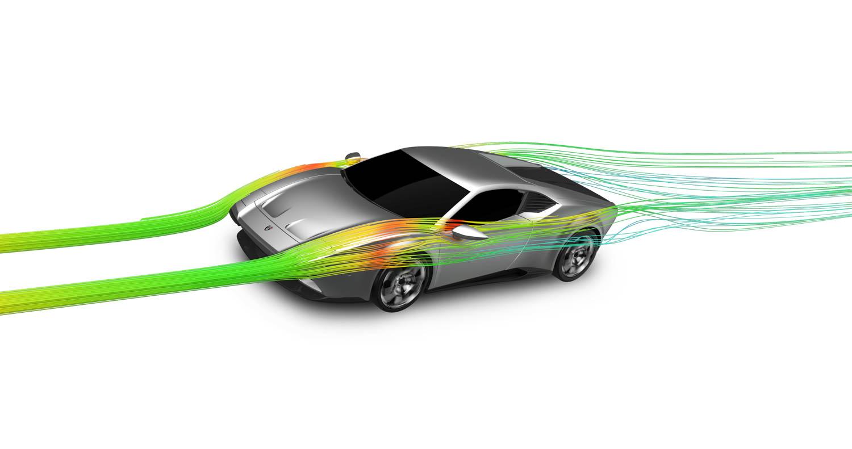 Ares Design Panther ProgettoUno aerodynamics