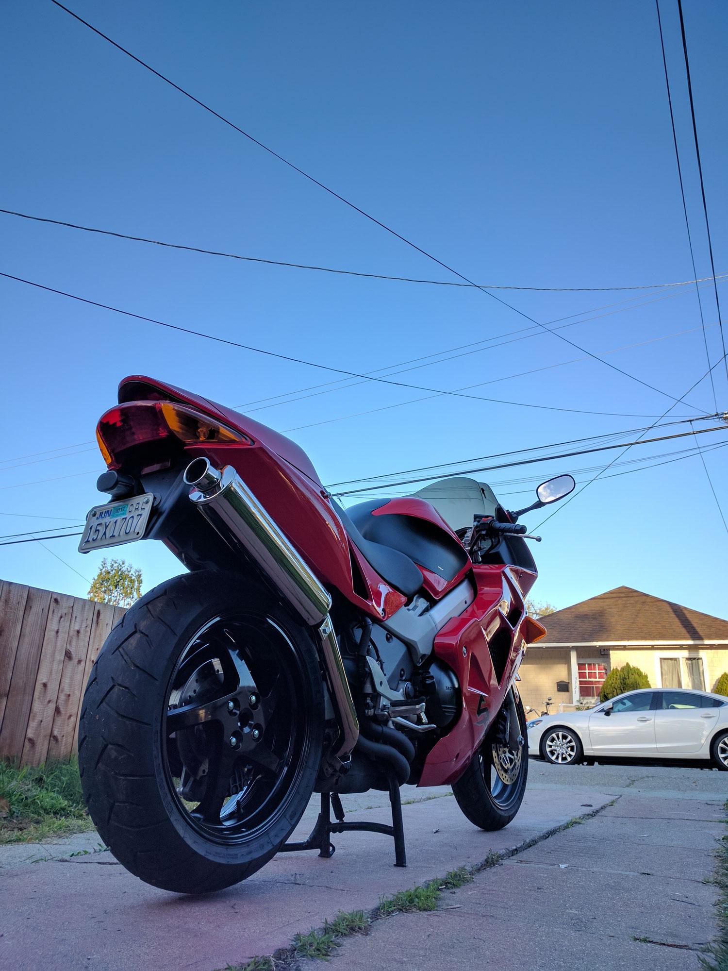 Honda VRF rear 3/4