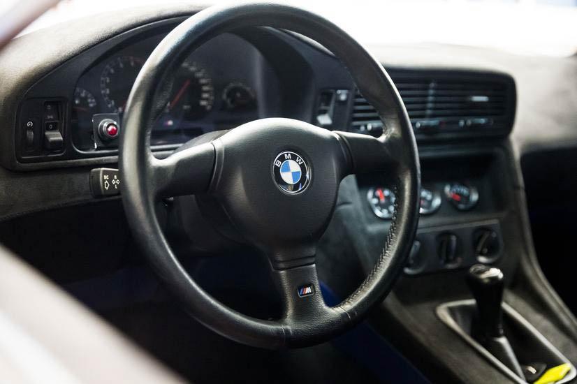 BMW E31 M8 prototype steering wheel