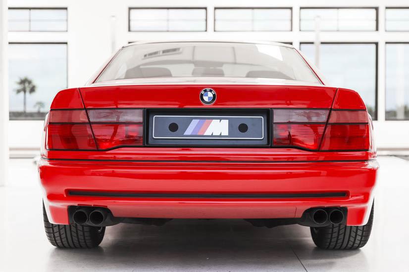 BMW E31 M8 prototype rear