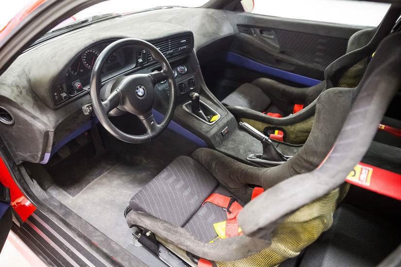 BMW E31 M8 prototype interior
