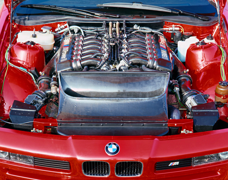 BMW E31 M8 prototype engine