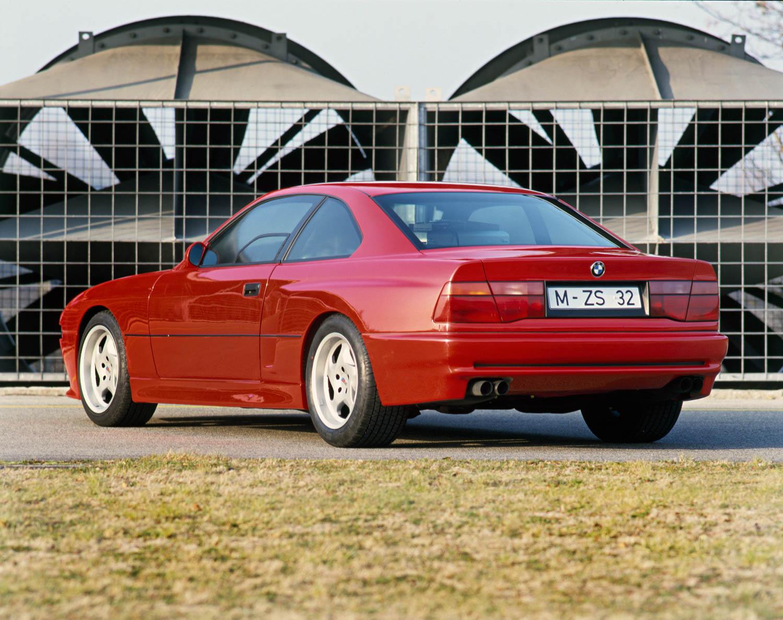 BMW E31 M8 prototype rear 3/4