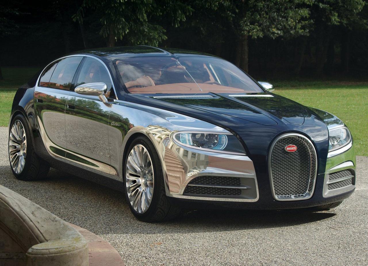 Bugatti Galibier Concept front 3/4