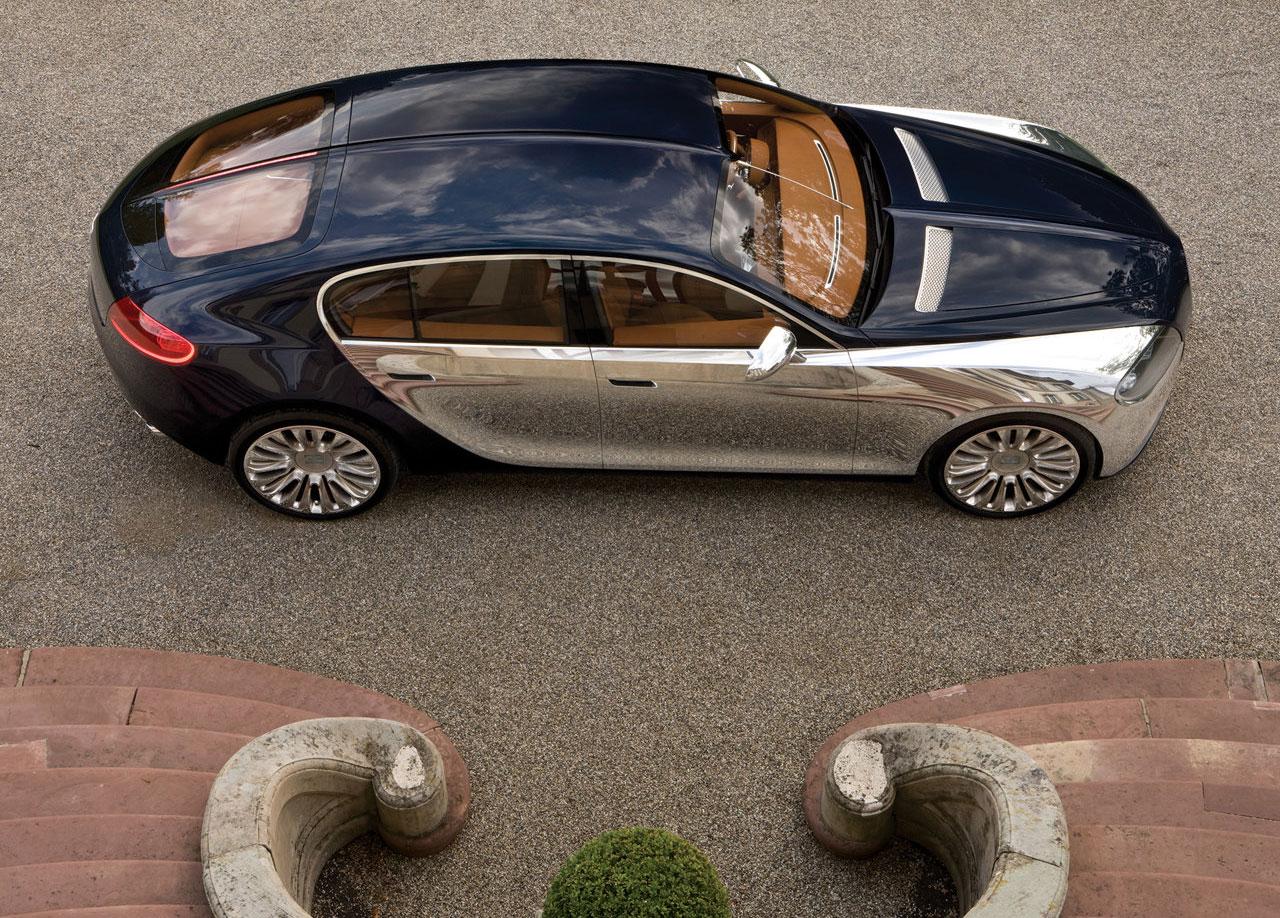 Bugatti Galibier Concept overhead