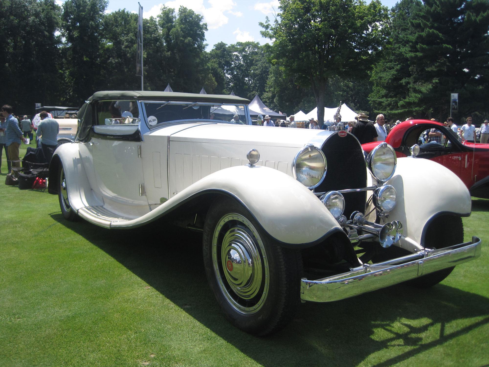 Bugatti Royale front 3/4