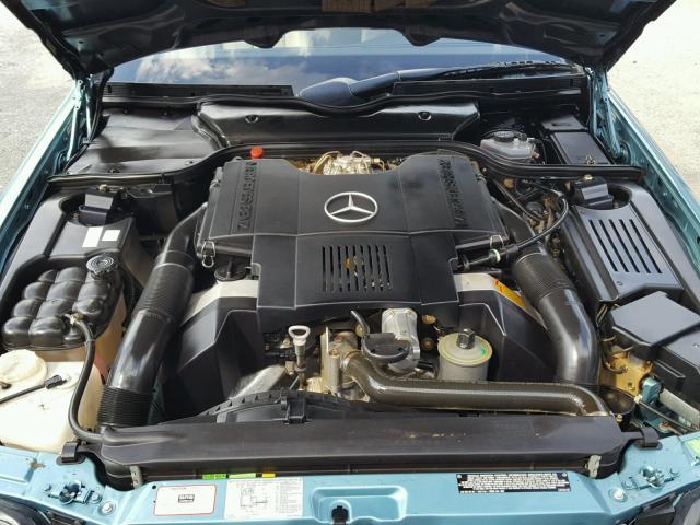 1992 Mercedes-Benz 500SL engine