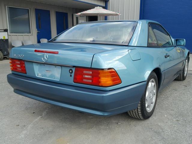 1992 Mercedes-Benz 500SL 3/4 rear