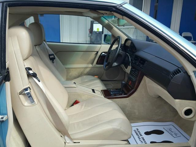 1992 Mercedes-Benz 500SL interior front