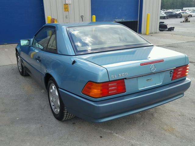 1992 Mercedes-Benz 500SL 3/4 rear driver