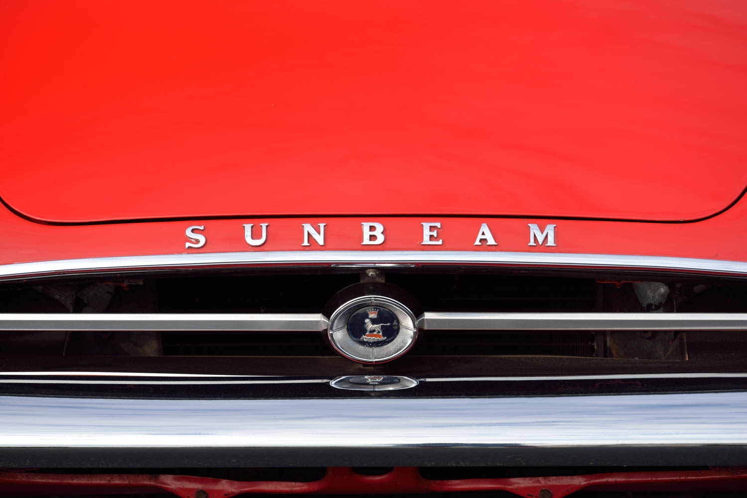 1965 Sunbeam Tiger MKI grille detail