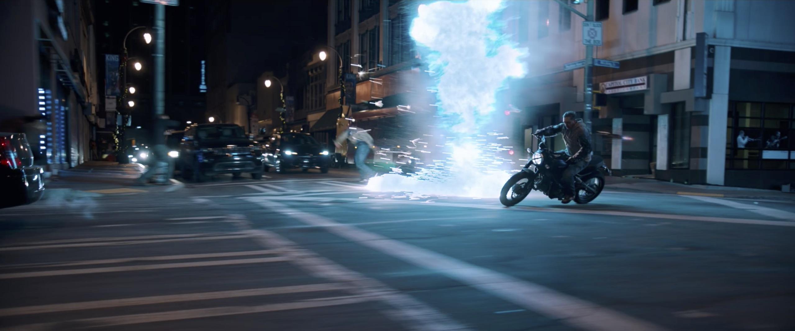 venom eddy brock motorcycle low rear