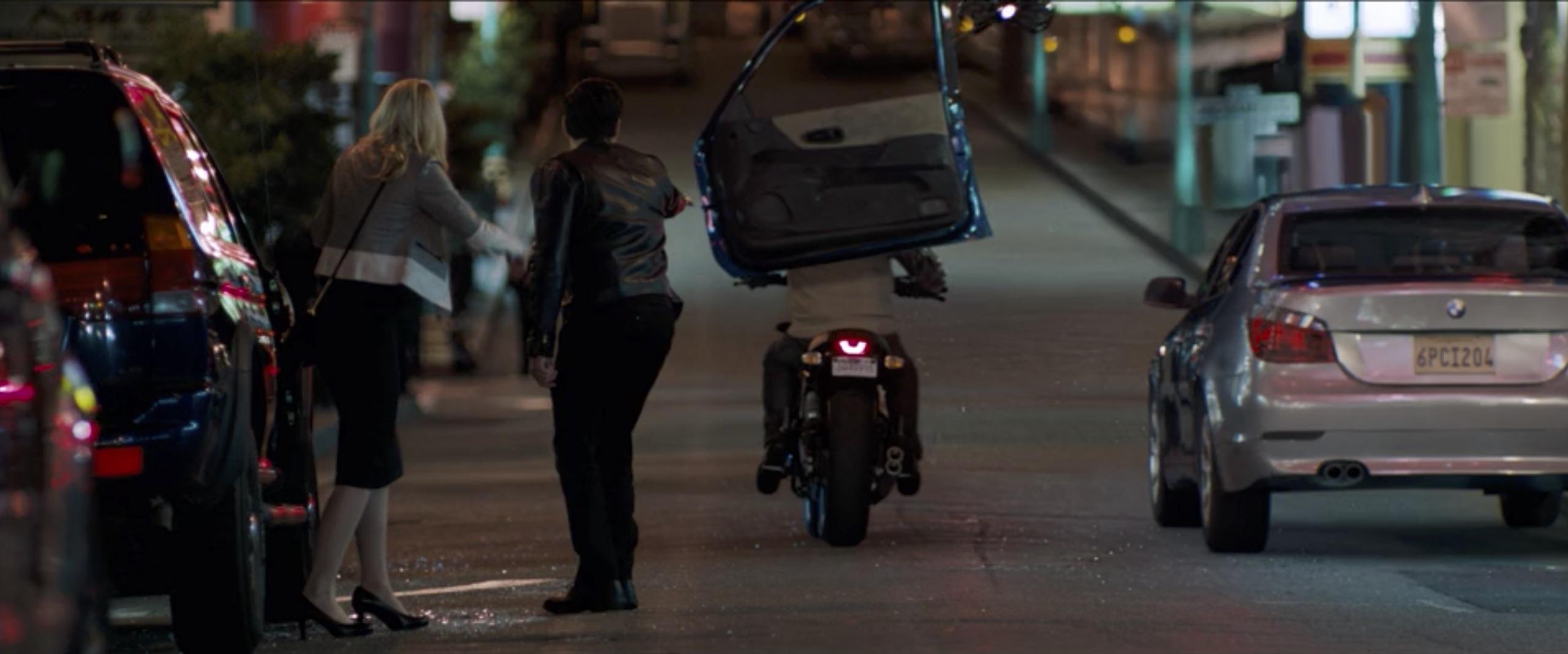 venom eddy brock motorcycle explosion