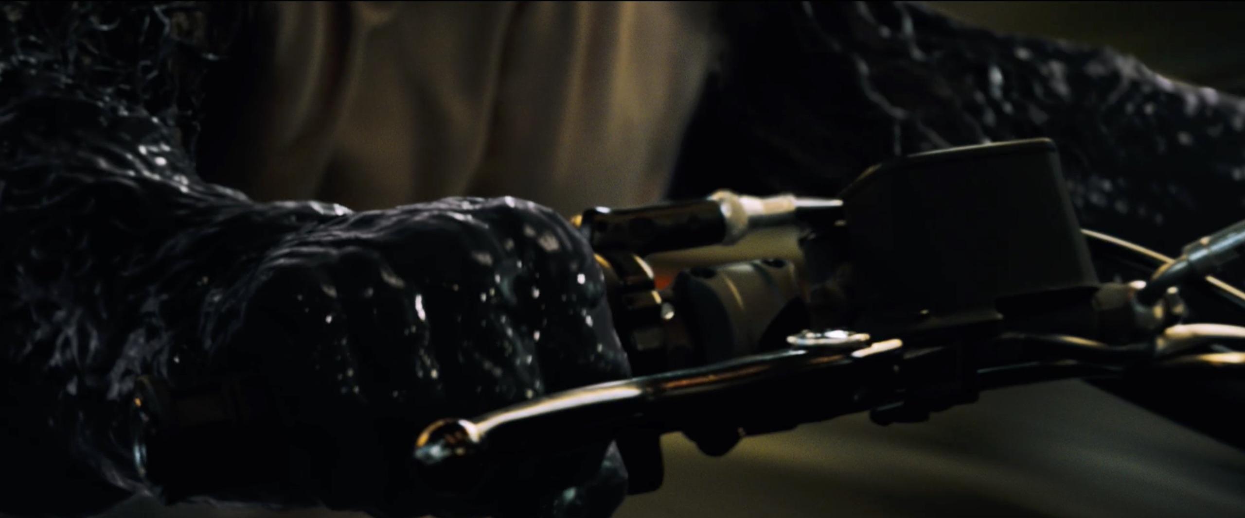 eddy brock venom covered motorcycle