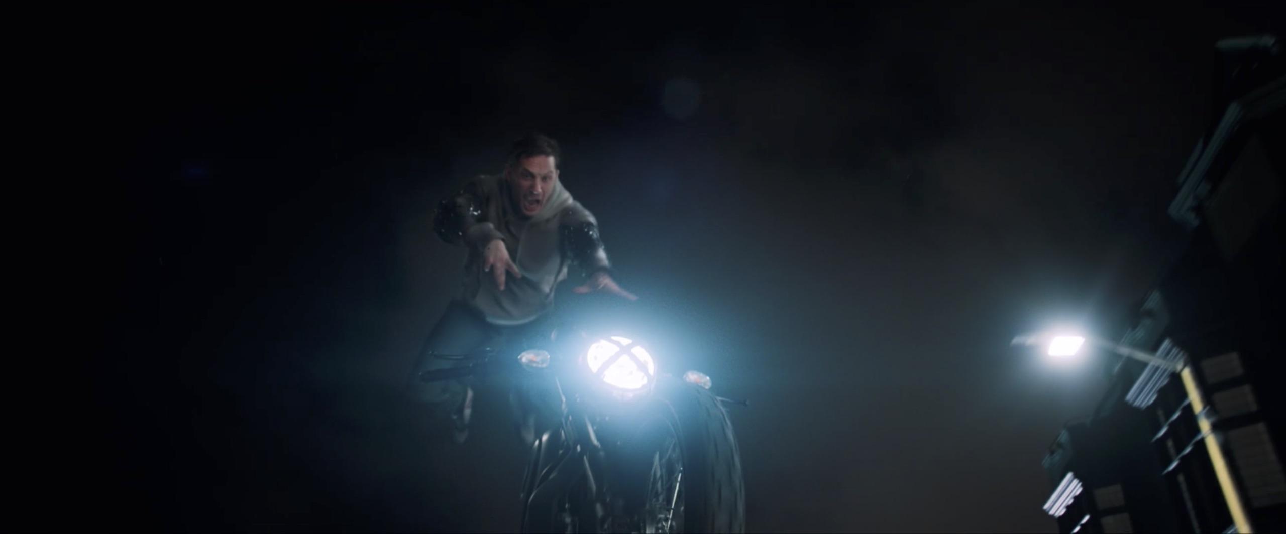 venom eddy brock bike jump