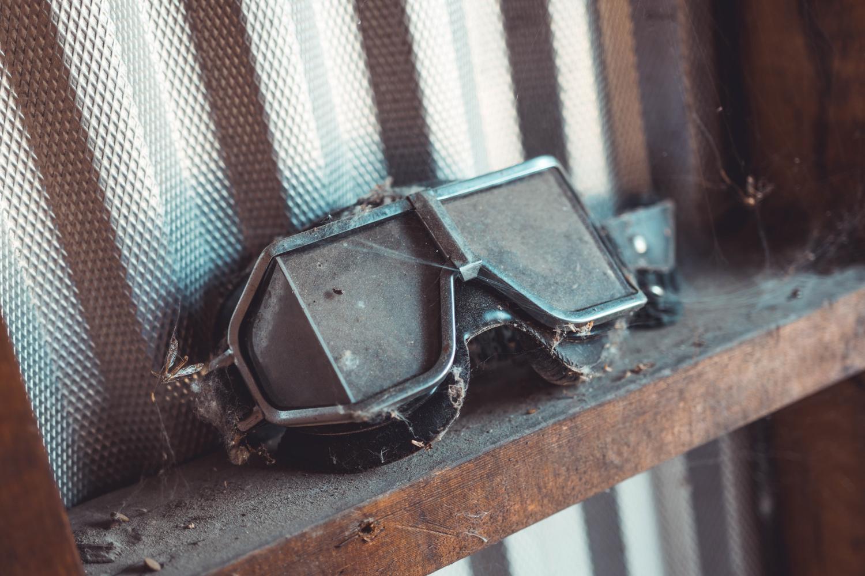 Barn Find Hunter Alaska old goggles