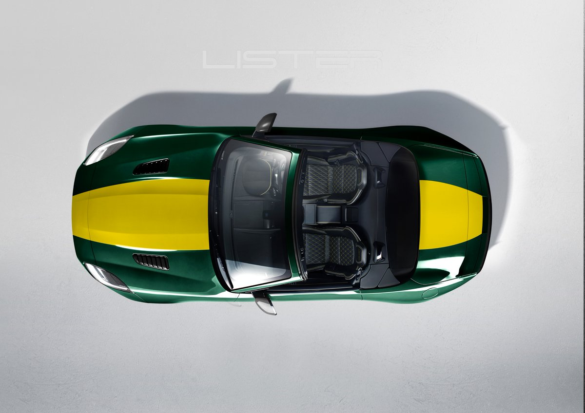 Lister LFT-C top down view