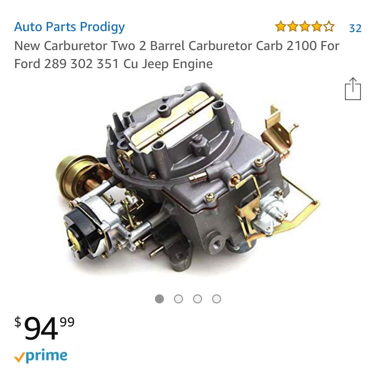What's it like to order a carburetor from Amazon? I found out