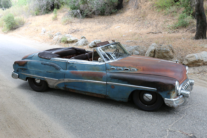"""Here's your chance to own a """"Derelict"""" 1950 Buick Roadmaster customized by Icon thumbnail"""