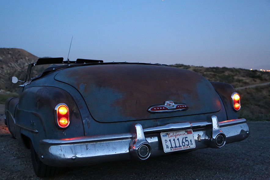 1950 Buick Roadmaster ICON Derelict rear detail