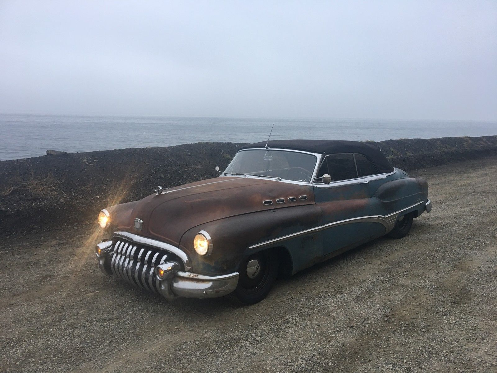 1950 Buick Roadmaster ICON Derelict 3/4 high