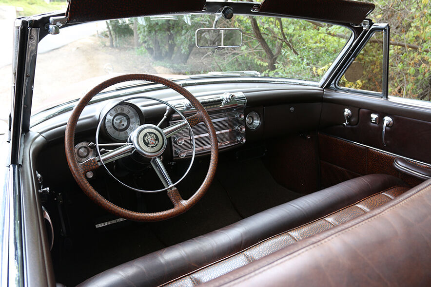 1950 Buick Roadmaster ICON Derelict interior